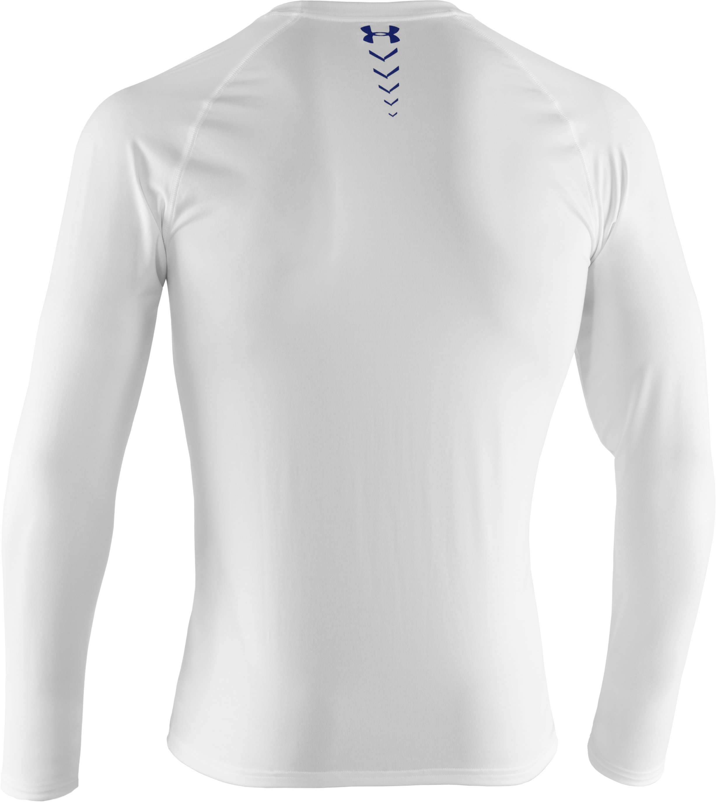 Men's UA Baseball Classic Long Sleeve T-Shirt, White