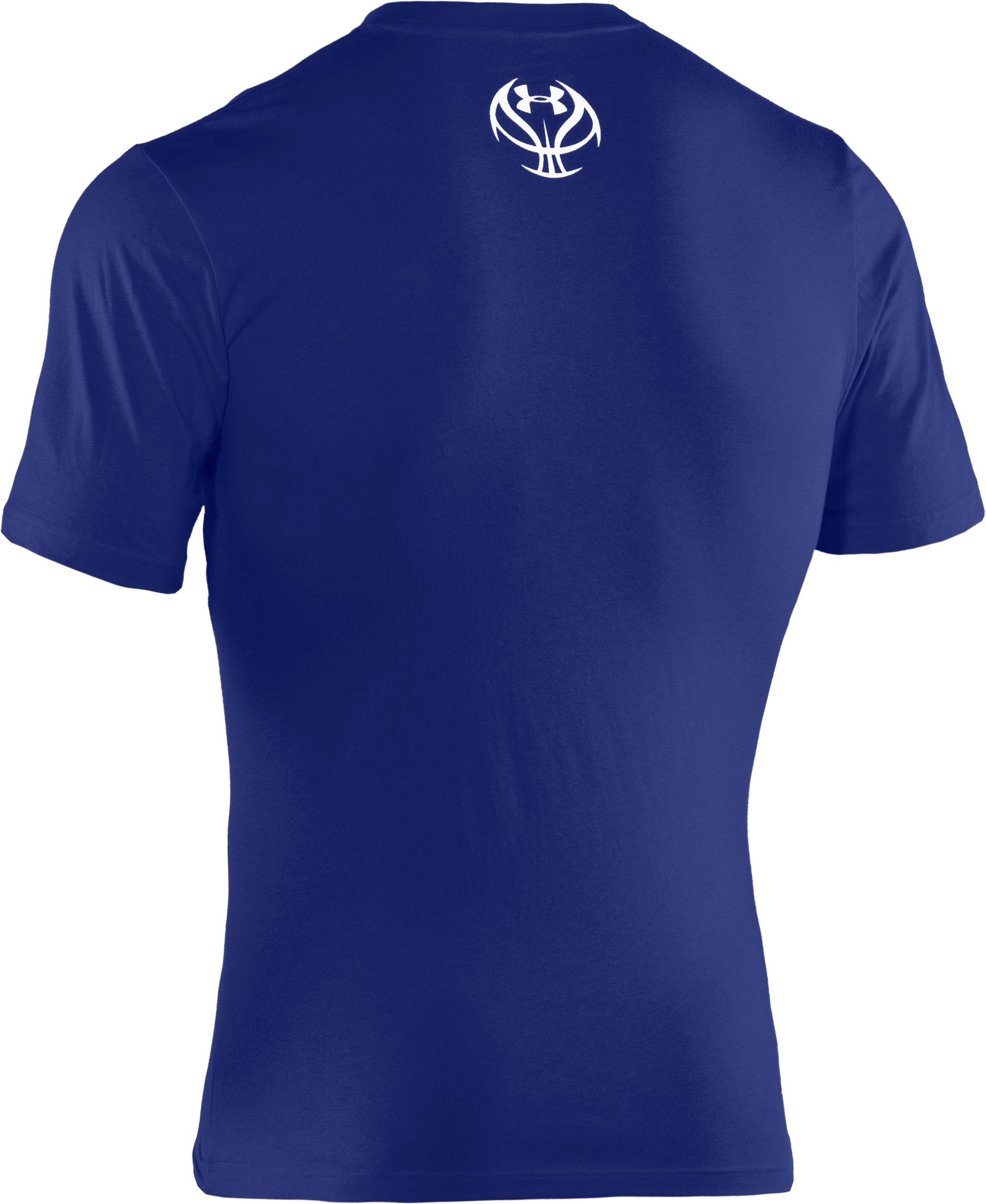 Men's UA Basketball Pregame Graphic T-Shirt, Royal