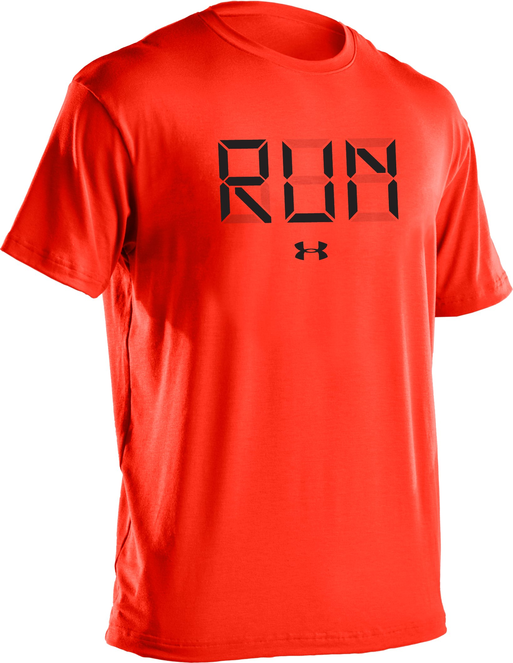 Men's UA Run Digital Graphic T-Shirt, Fuego
