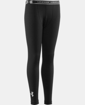 Boys' ColdGear® Evo Fitted Baselayer Tights  1 Color $49.99