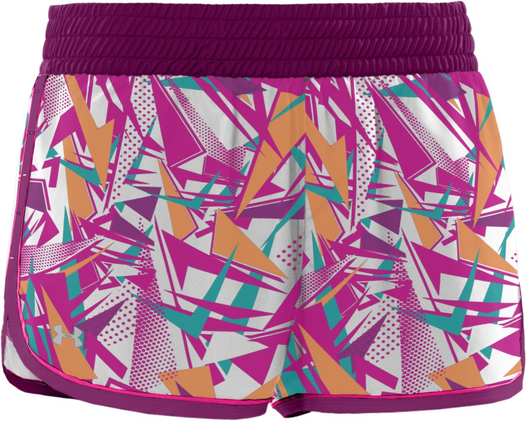 "Women's UA Great Escape Printed 3"" Shorts, Rush"