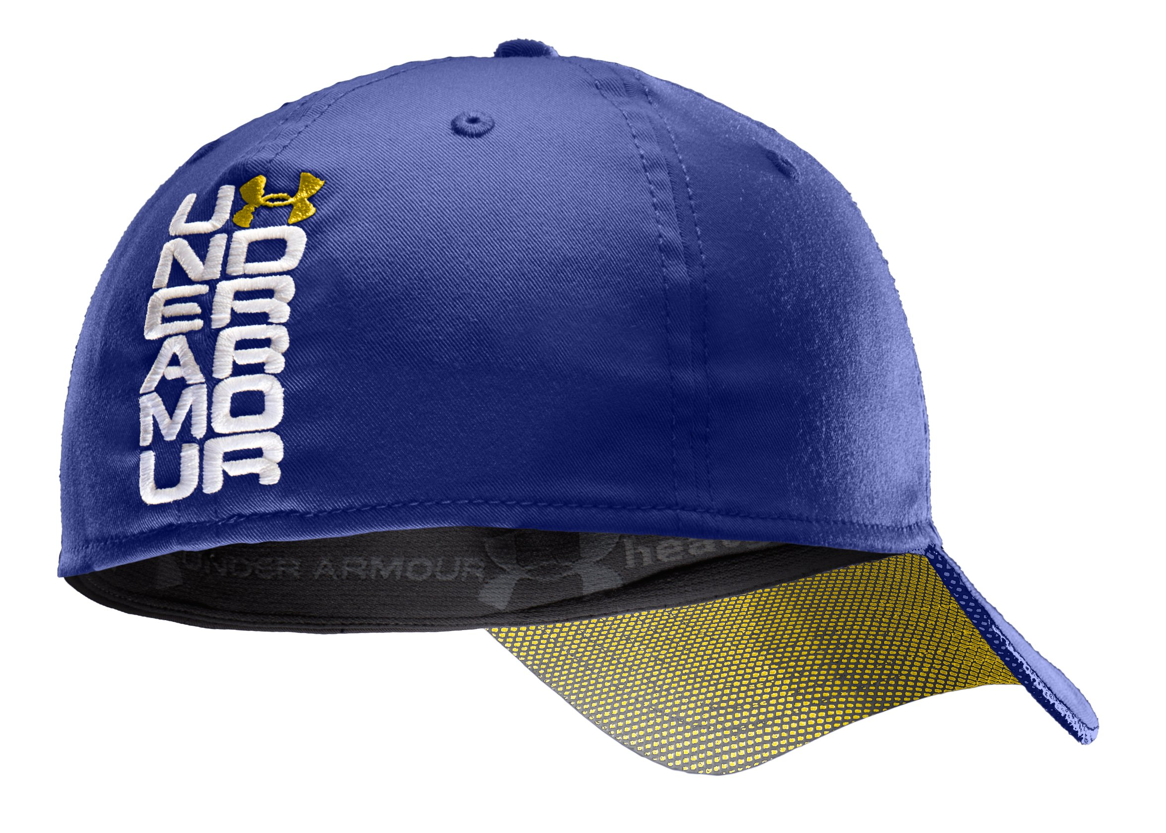 Men's UA Monster Mesh Stretch Fit Cap, Royal
