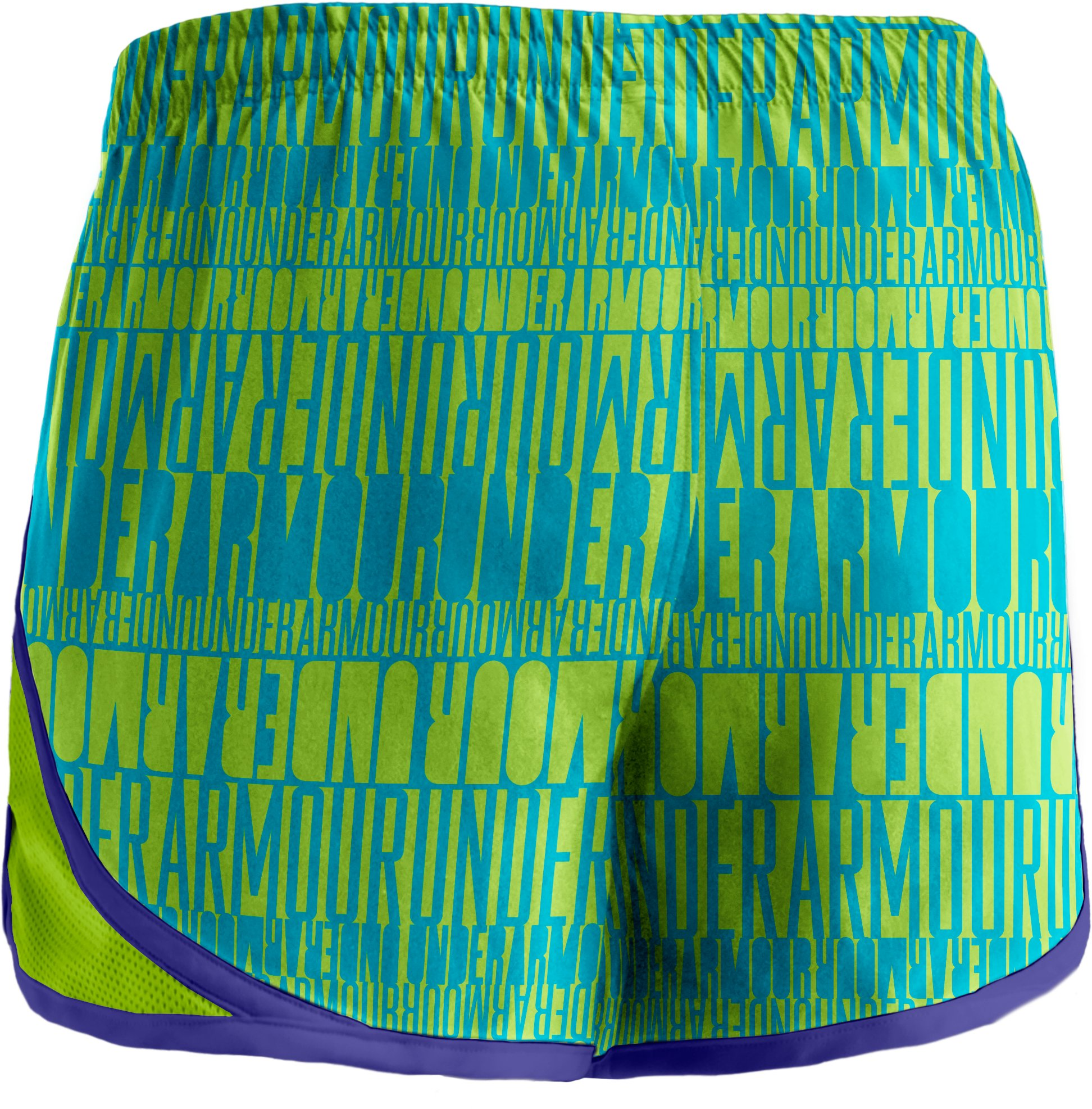 "Girls' UA Escape 3"" Printed Shorts, Fusion, undefined"