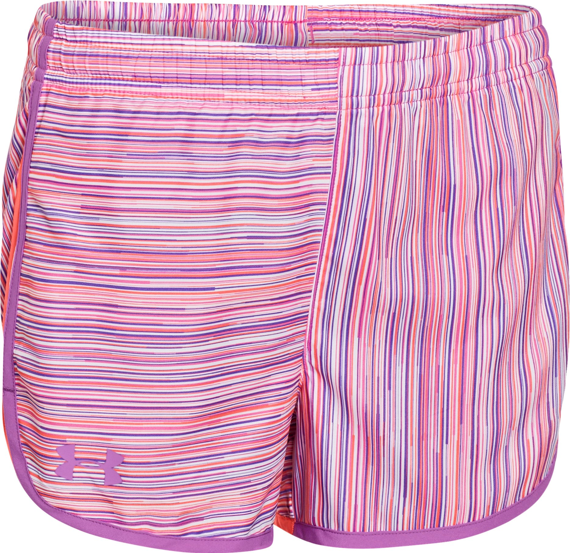 "Girls' UA Escape 3"" Printed Shorts, BRILLIANCE"