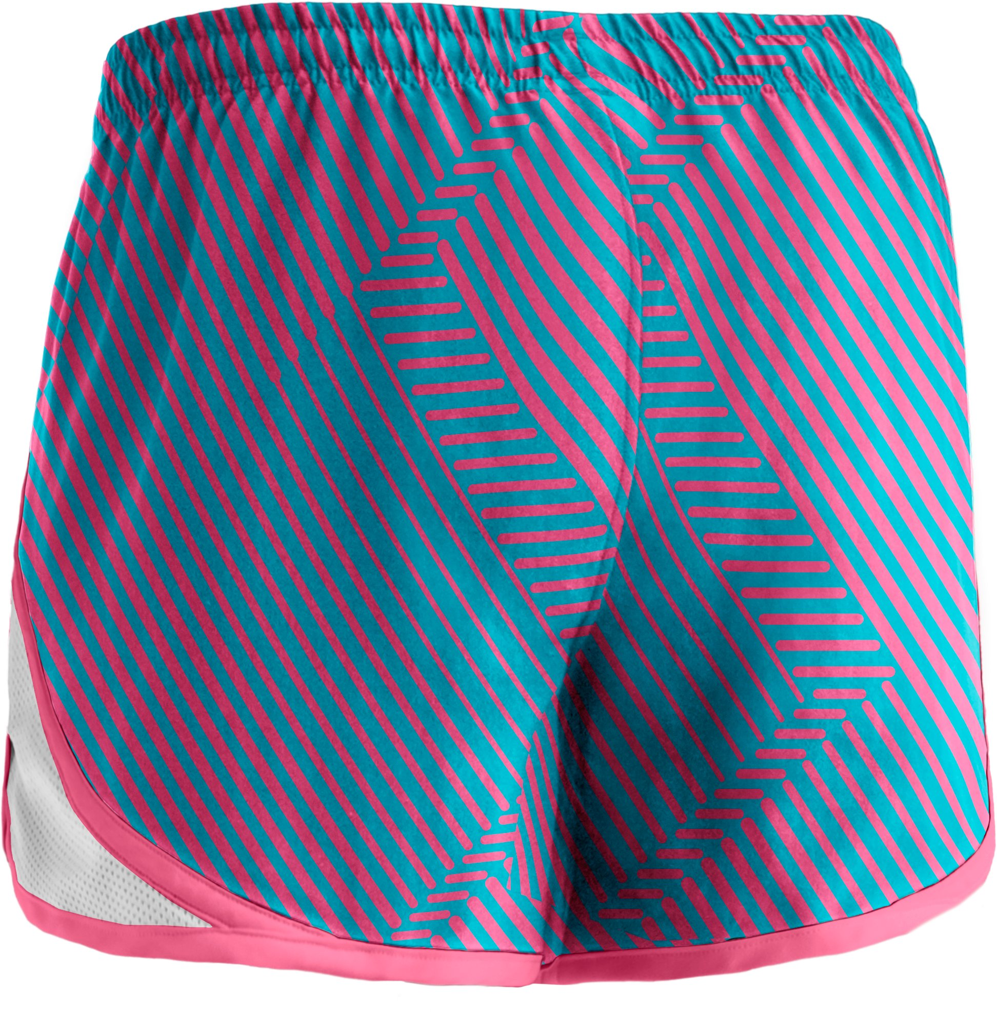 "Girls' UA Escape 3"" Printed Shorts, Ultra, undefined"