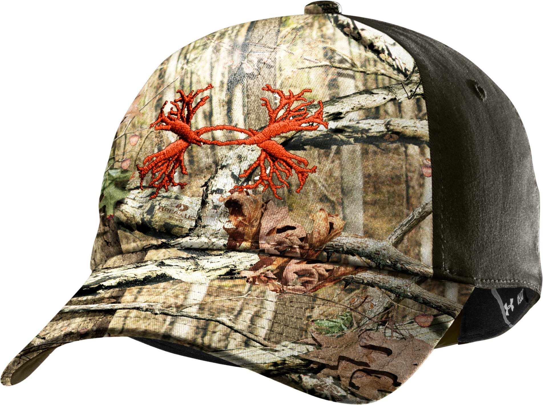 Men's UA Camo Antler 2-Tone Cap, Mossy Oak Break-Up Infinity
