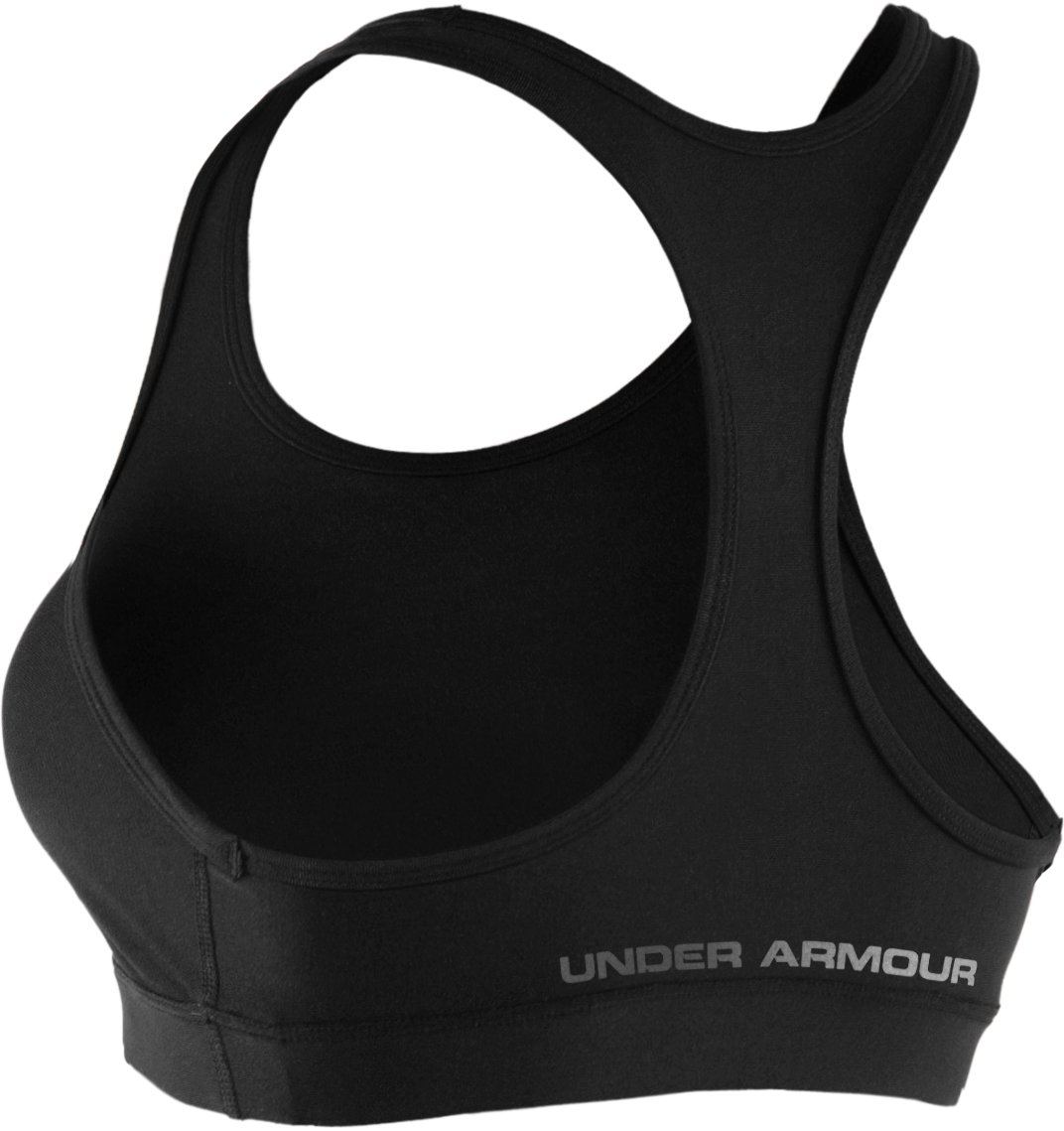 Women's HeatGear® Sonic Bra, Black