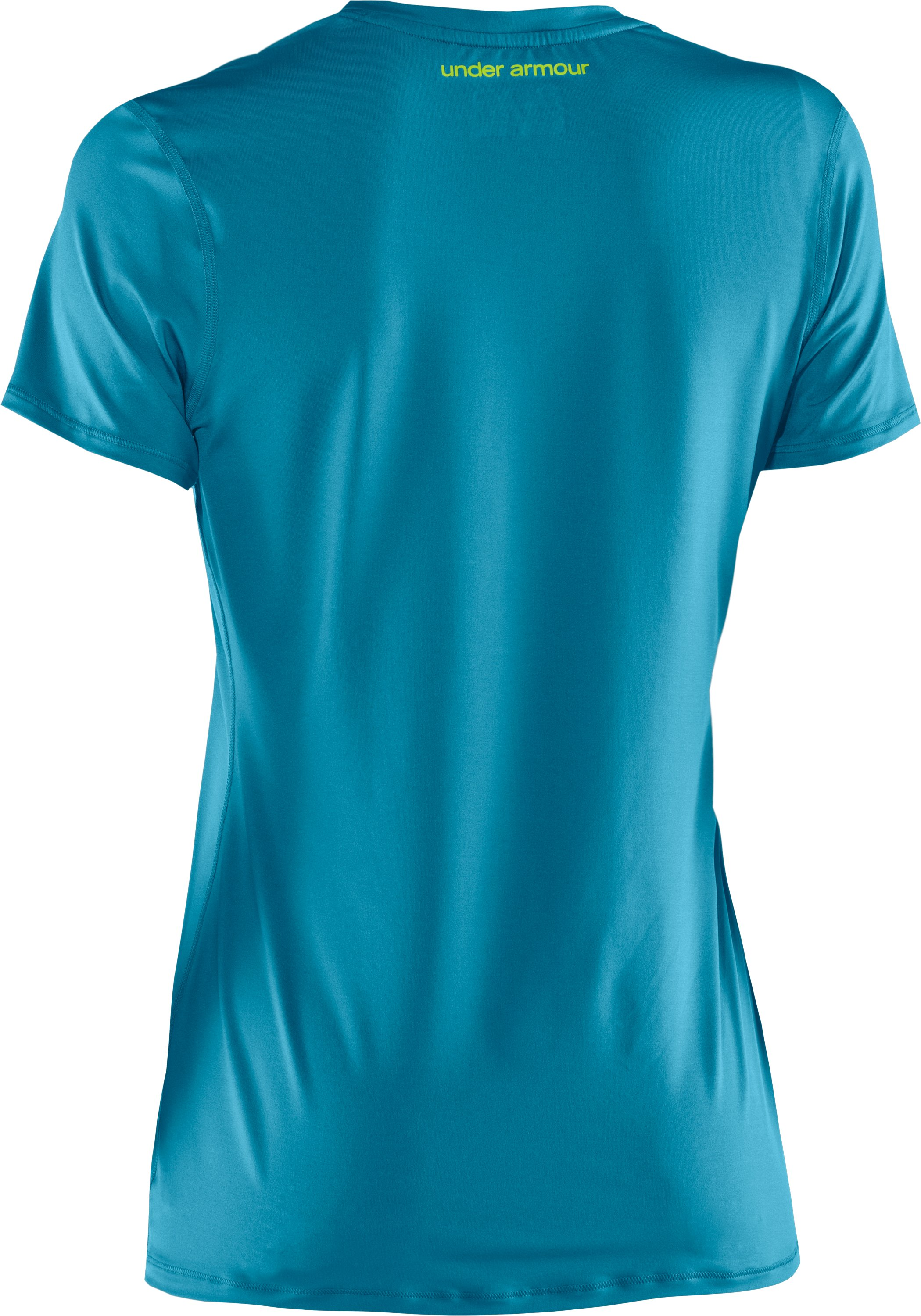 Women's HeatGear® Sonic Short Sleeve, Break,