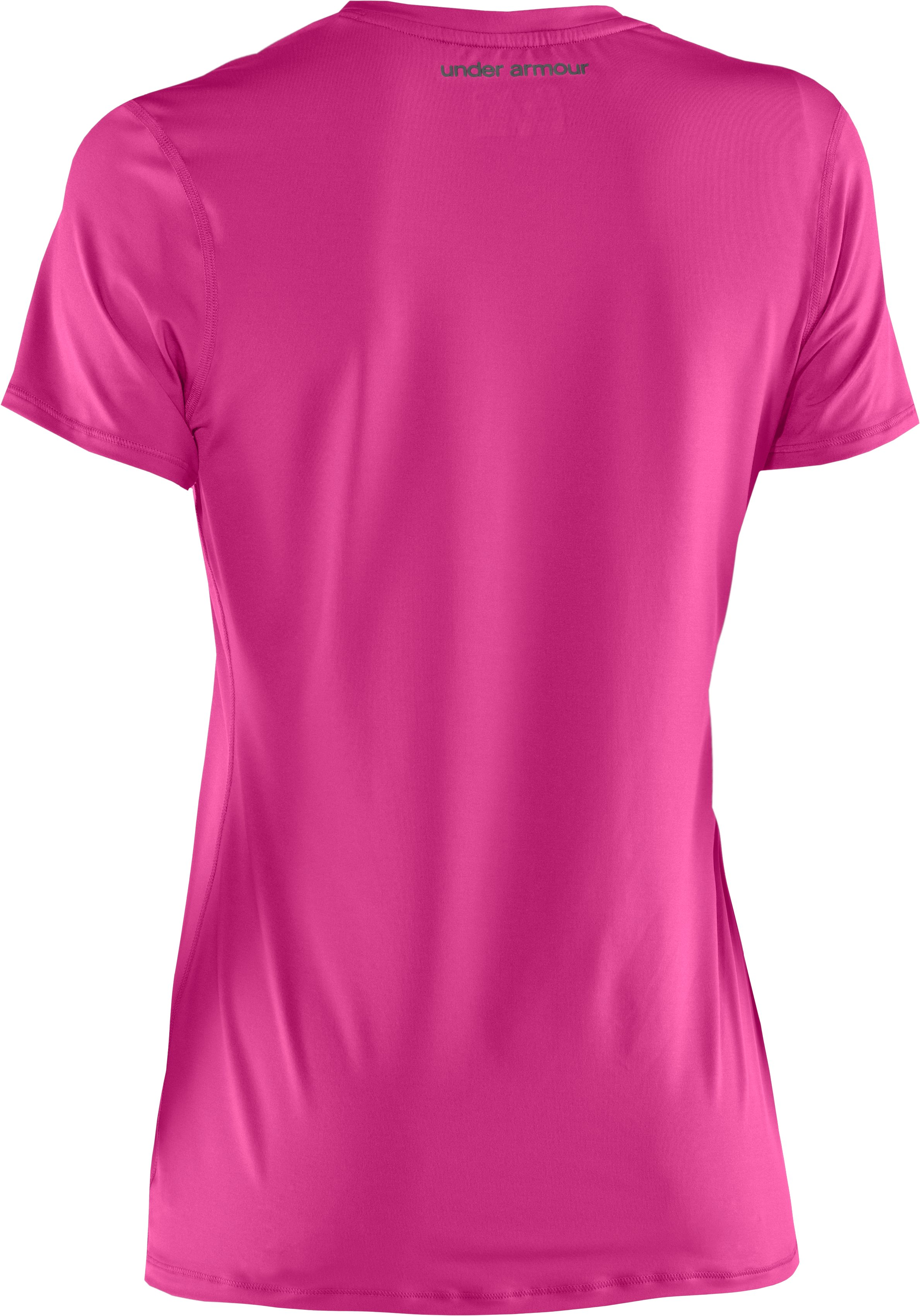 Women's HeatGear® Sonic Short Sleeve, Playful,