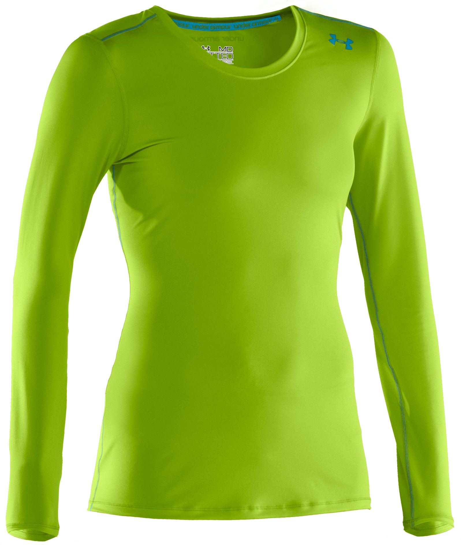 Women's HeatGear® Sonic Long Sleeve, Fusion