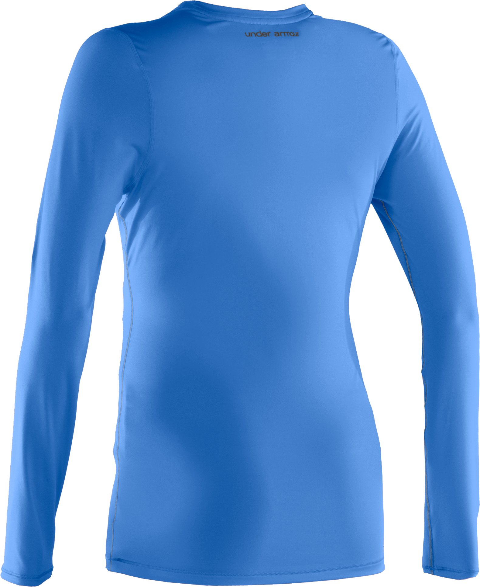 Women's HeatGear® Sonic Long Sleeve, Water