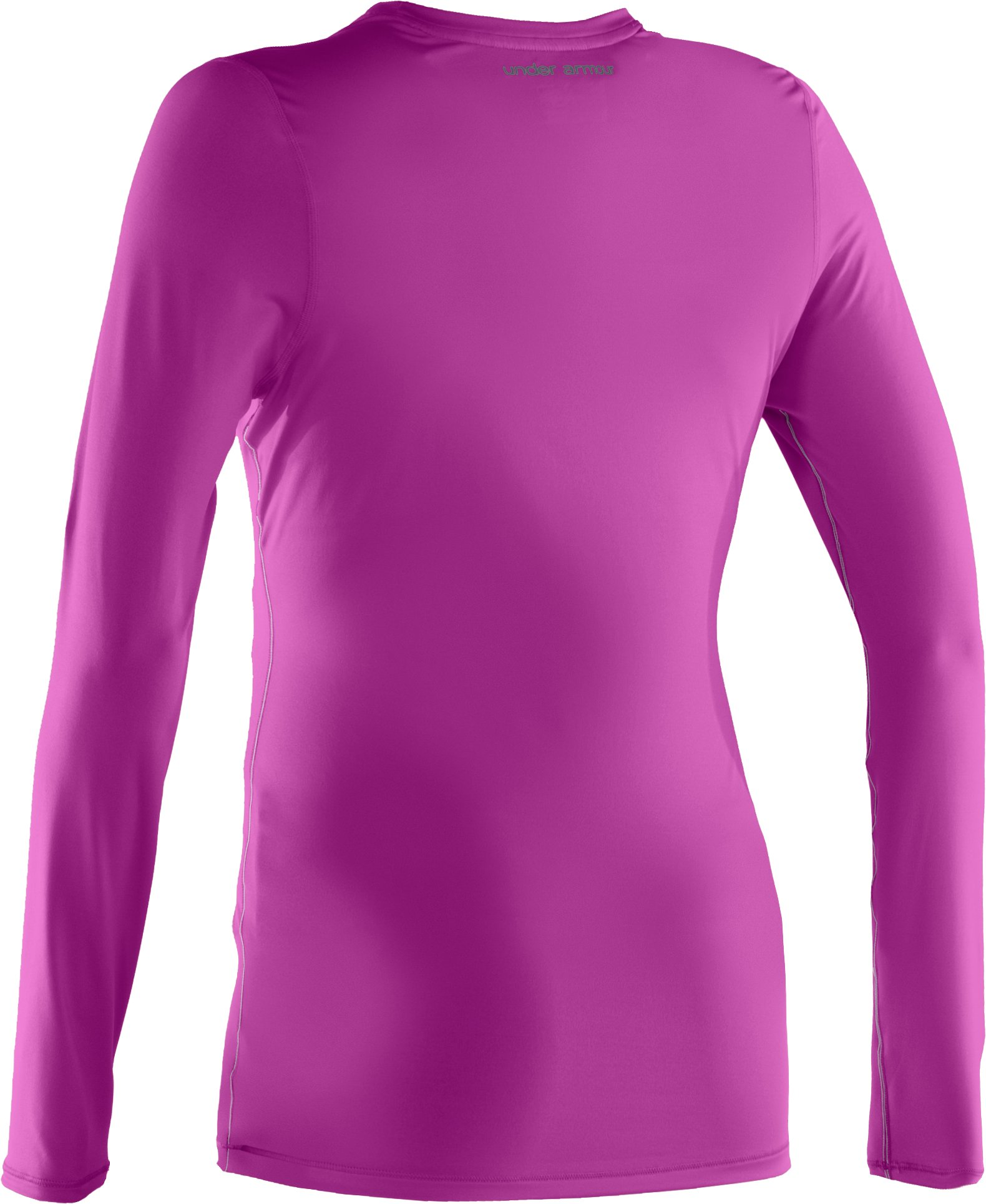 Women's HeatGear® Sonic Long Sleeve, STROBE,