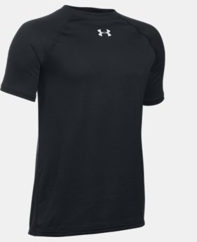 New Arrival  Boys' UA Locker Short Sleeve T-Shirt LIMITED TIME: FREE SHIPPING  $21.99