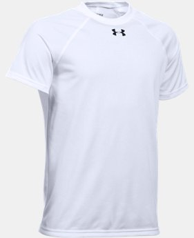 New Arrival  Boys' UA Locker Short Sleeve T-Shirt  1 Color $21.99