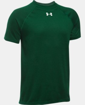 Best Seller Boys' UA Locker Short Sleeve T-Shirt LIMITED TIME: FREE SHIPPING 4 Colors $19.99