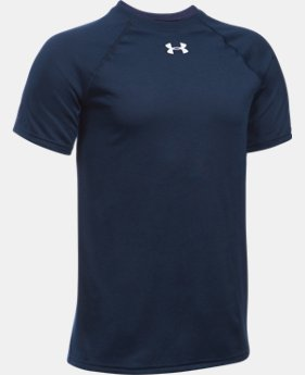 Best Seller Boys' UA Locker Short Sleeve T-Shirt LIMITED TIME: FREE SHIPPING 1 Color $19.99
