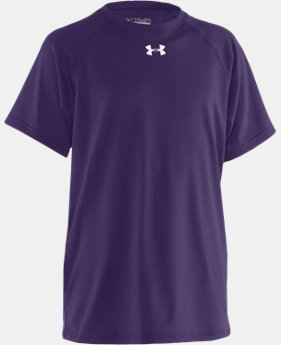 Best Seller Boys' UA Locker Short Sleeve T-Shirt LIMITED TIME: FREE U.S. SHIPPING  $19.99