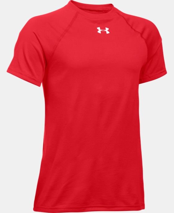 New Arrival  Boys' UA Locker Short Sleeve T-Shirt LIMITED TIME: FREE SHIPPING 2 Colors $21.99