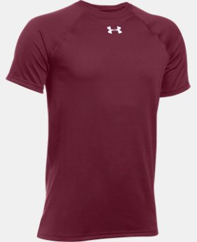 Best Seller Boys' UA Locker Short Sleeve T-Shirt LIMITED TIME: FREE SHIPPING  $19.99