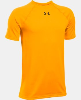 Best Seller Boys' UA Locker Short Sleeve T-Shirt LIMITED TIME: FREE SHIPPING 2 Colors $19.99