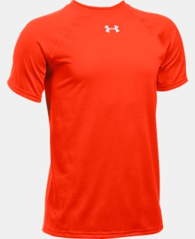 Boys' UA Locker Short Sleeve T-Shirt LIMITED TIME: FREE U.S. SHIPPING 1  Color Available $19.99