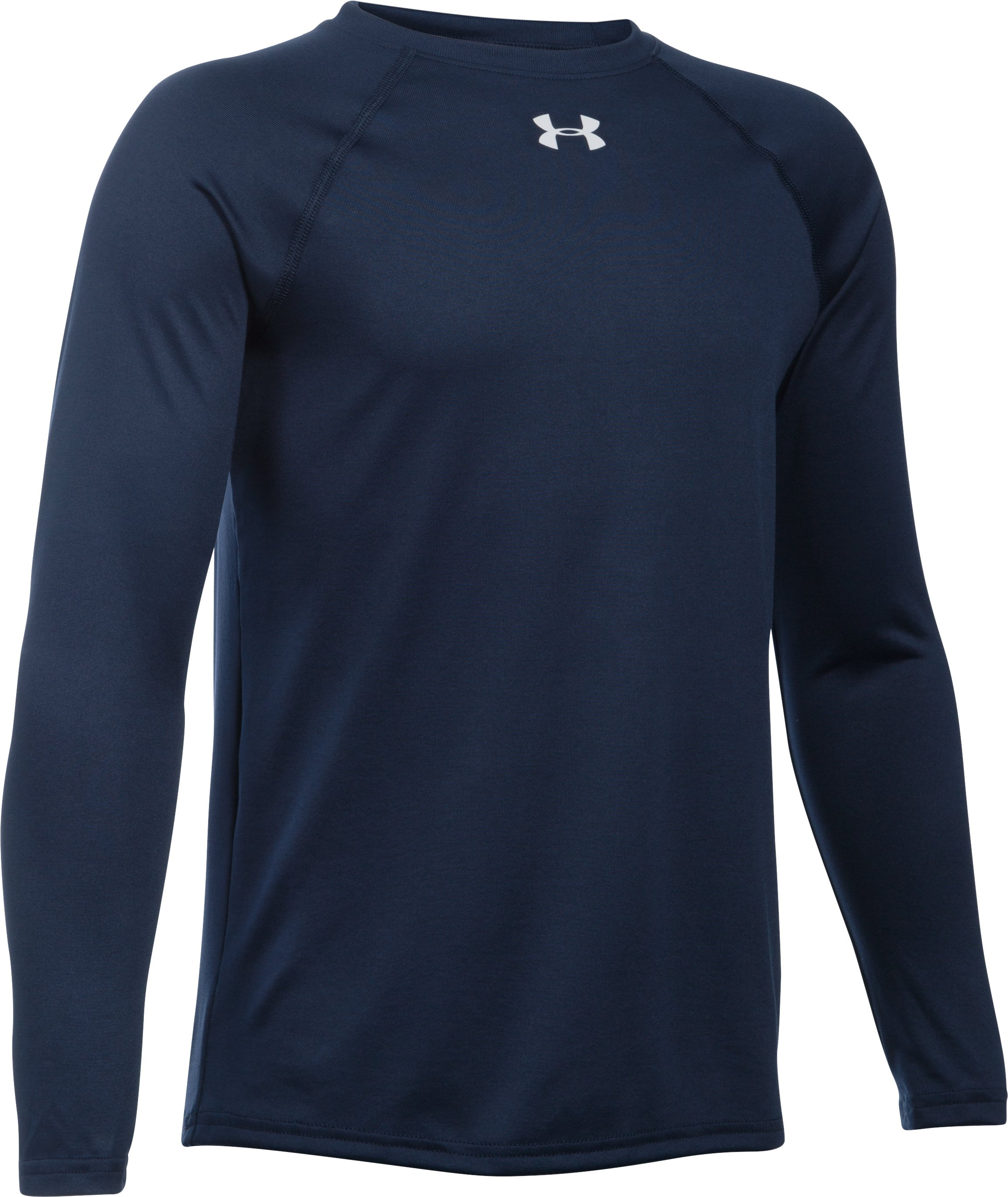 Boys' UA Locker T-Shirt, Midnight Navy, zoomed image
