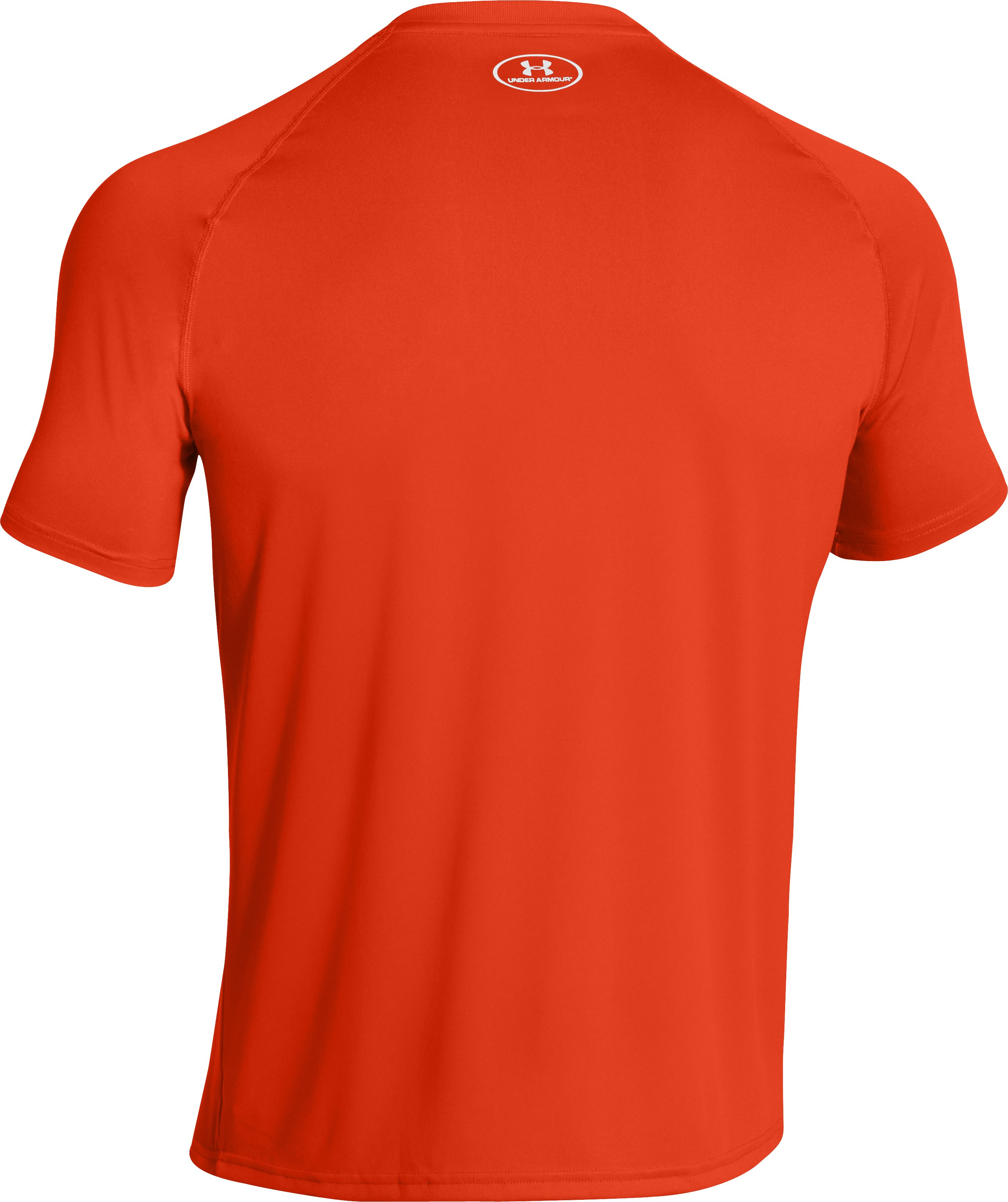 Men's UA Locker T-Shirt, Dark Orange