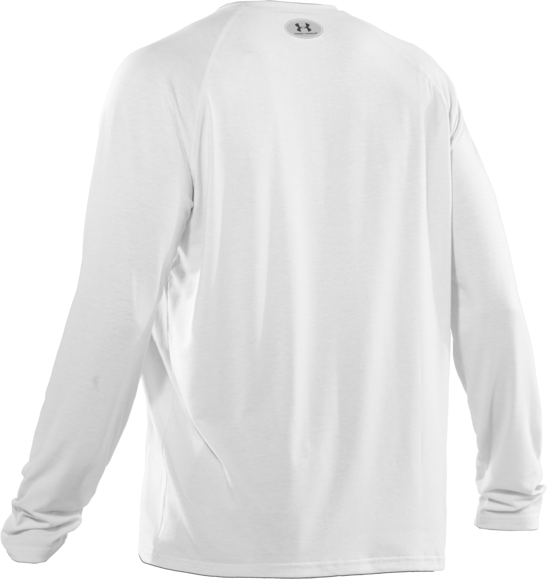 Men's UA Locker Long Sleeve T-Shirt, White