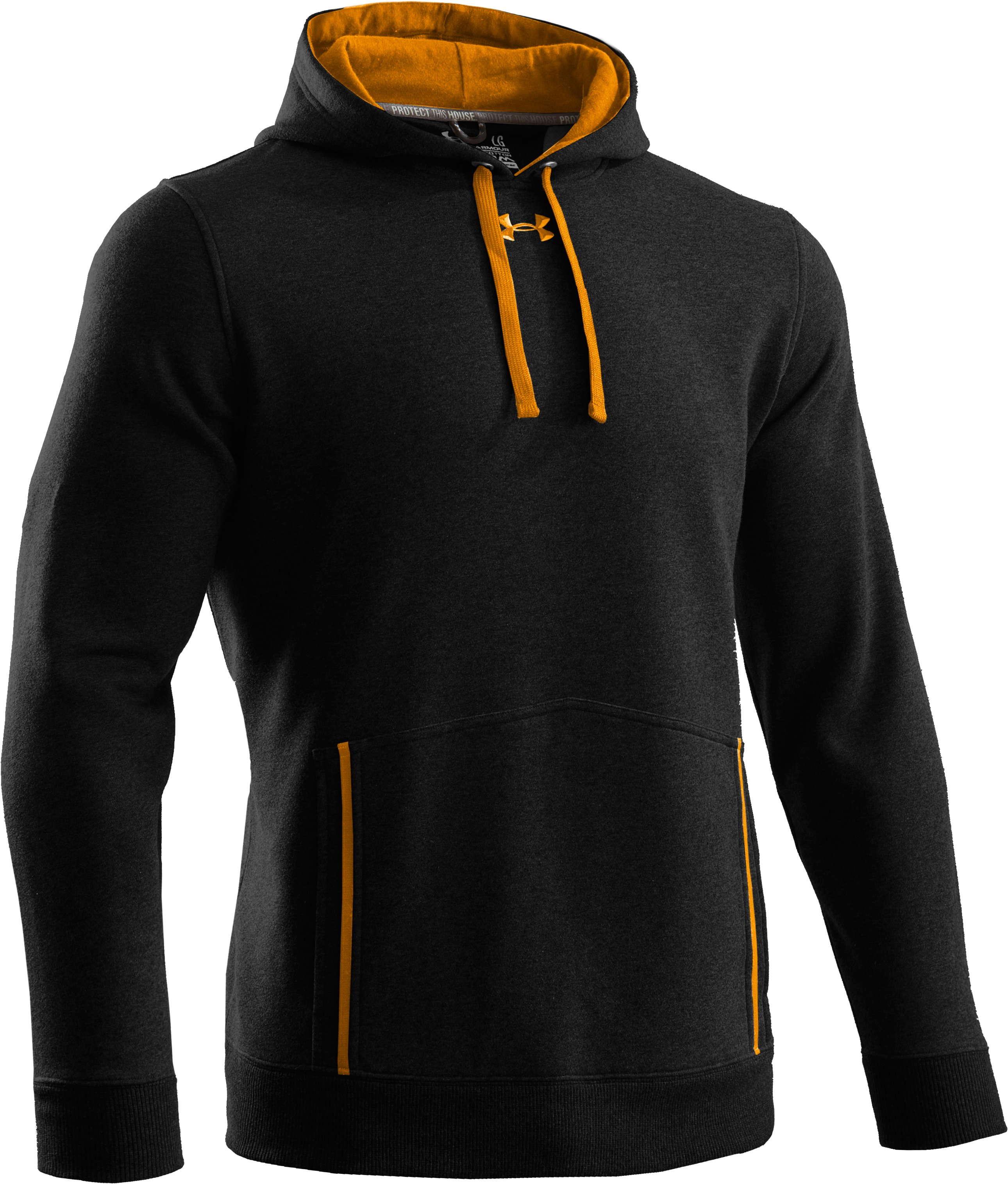 Men's Charged Cotton® Storm Relentless Team Hoodie, Black