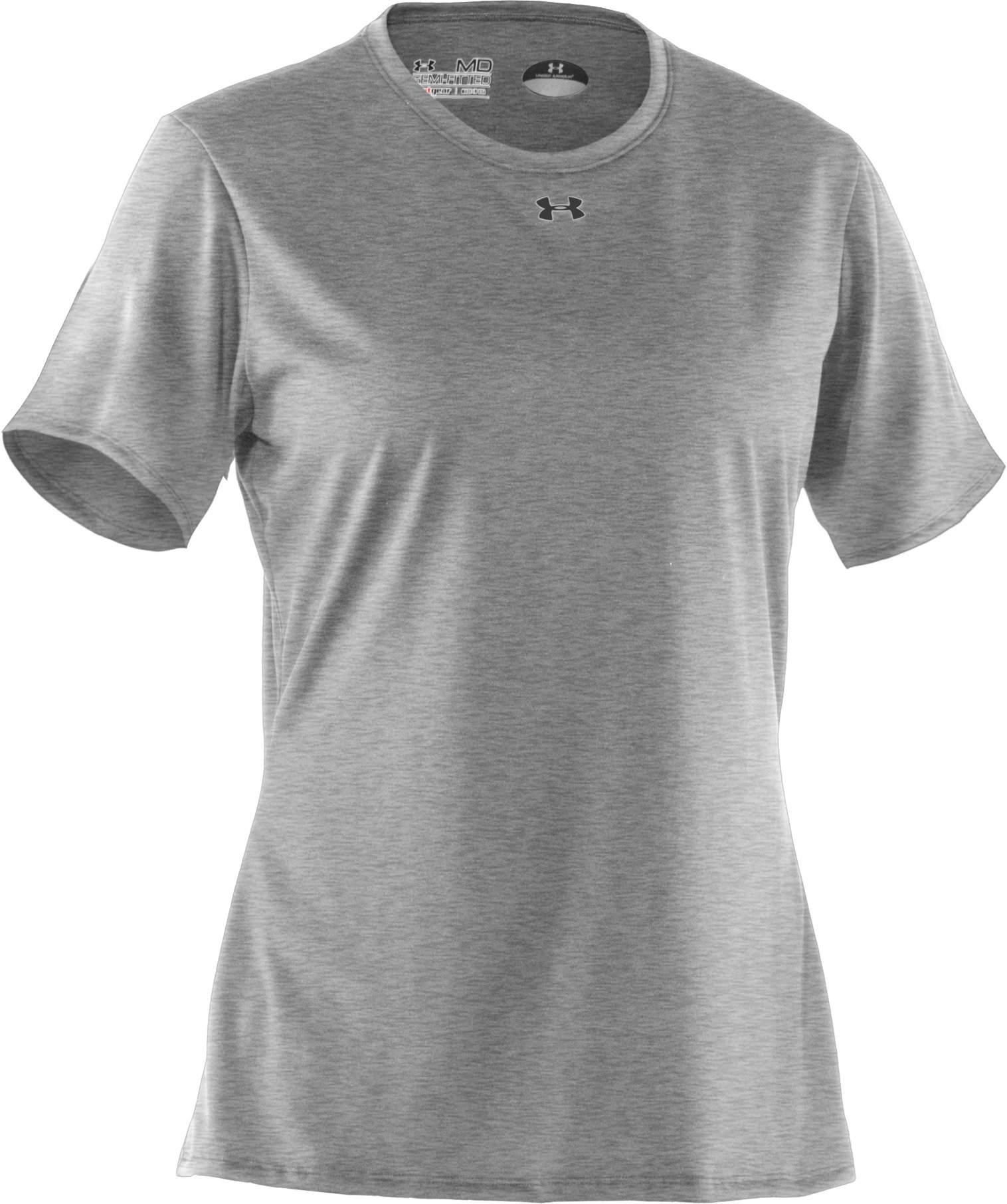 Women's UA Locker T-Shirt, True Gray Heather