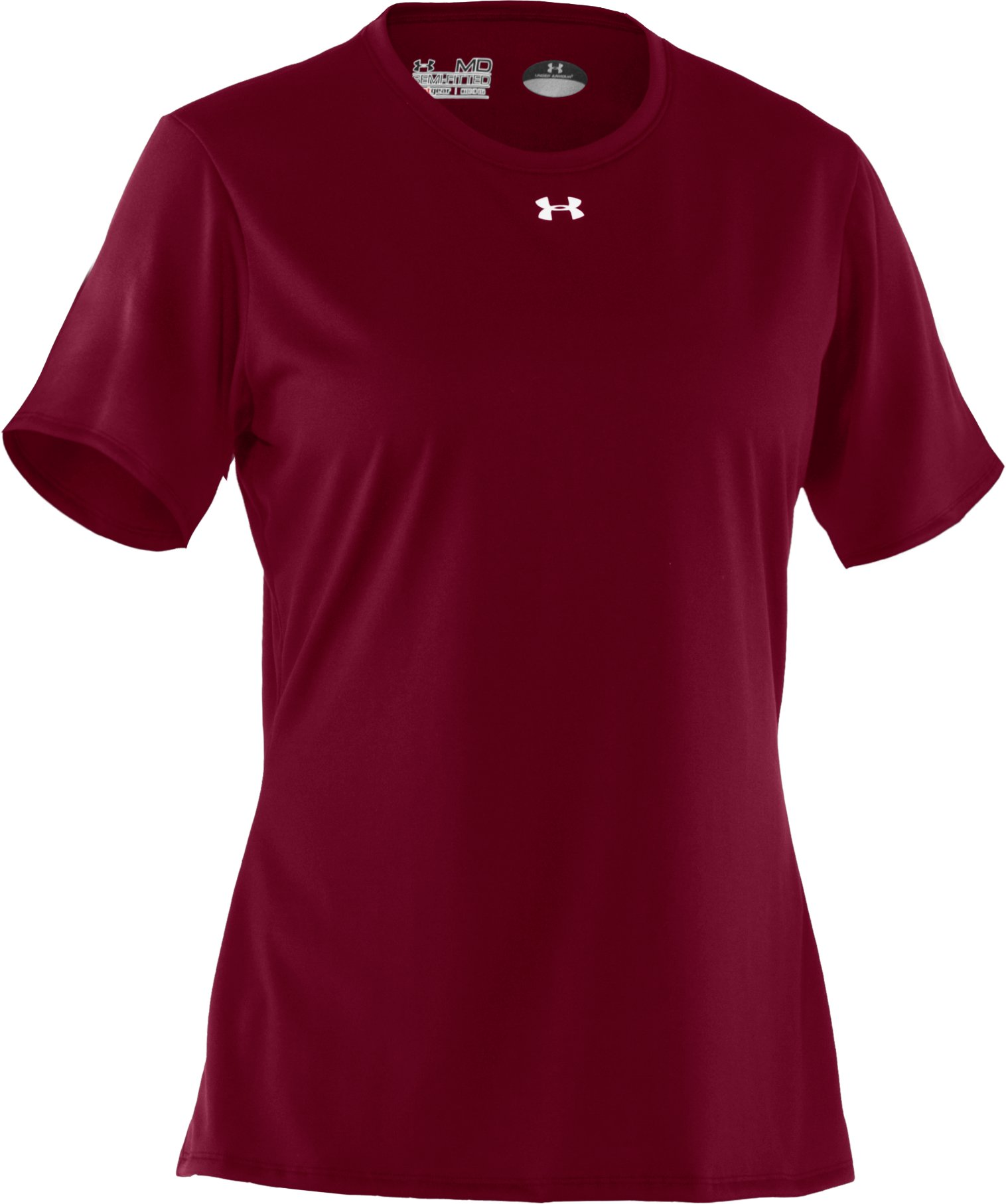 Women's UA Locker T-Shirt, Maroon
