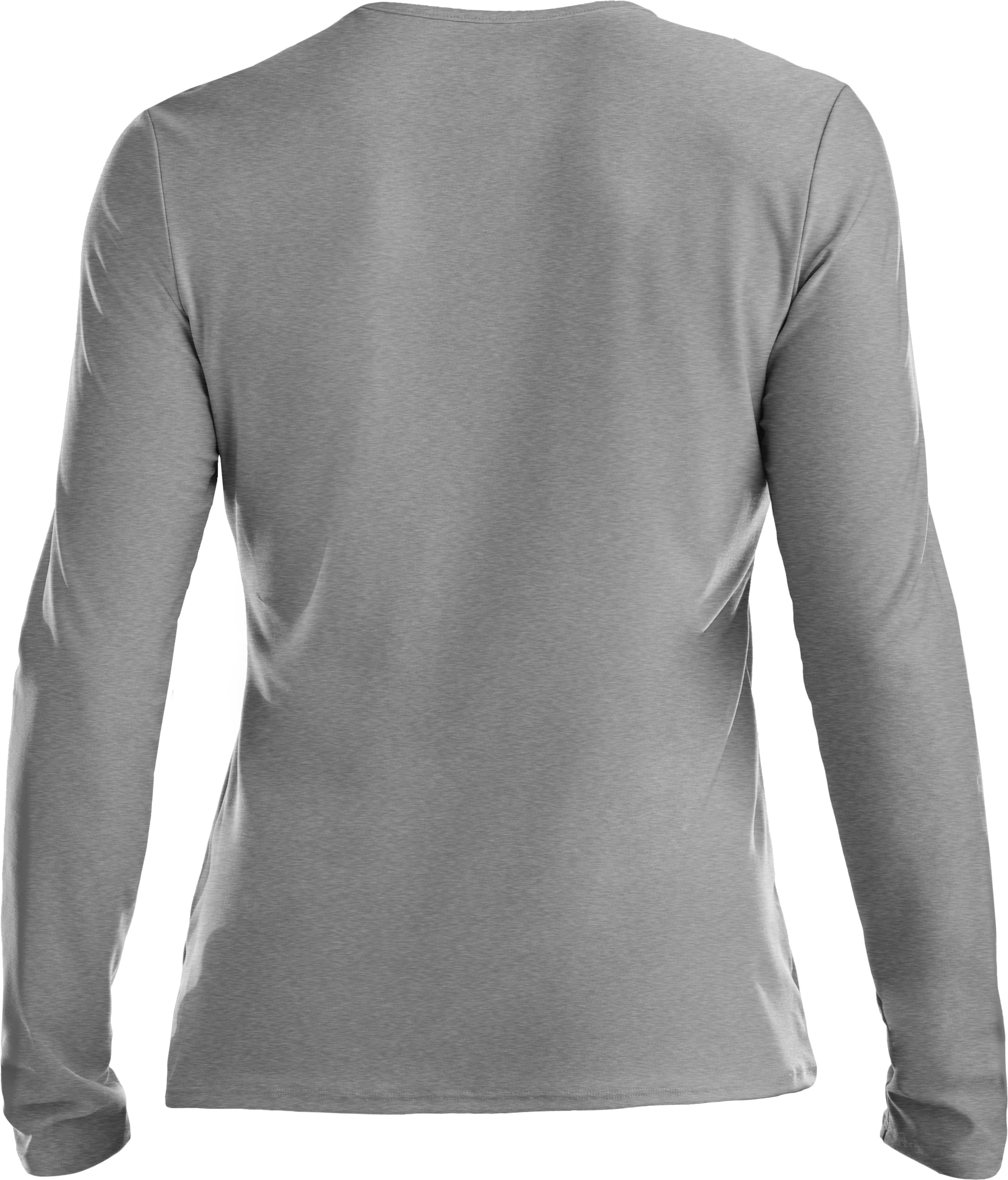 Women's Locker Long Sleeve T-Shirt, True Gray Heather, undefined
