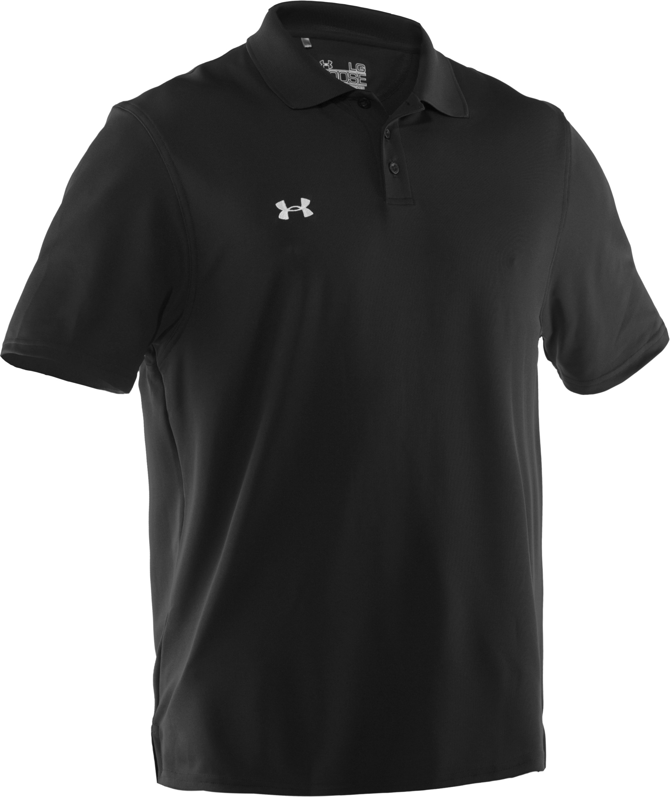 Men's UA Performance Team Polo, Black