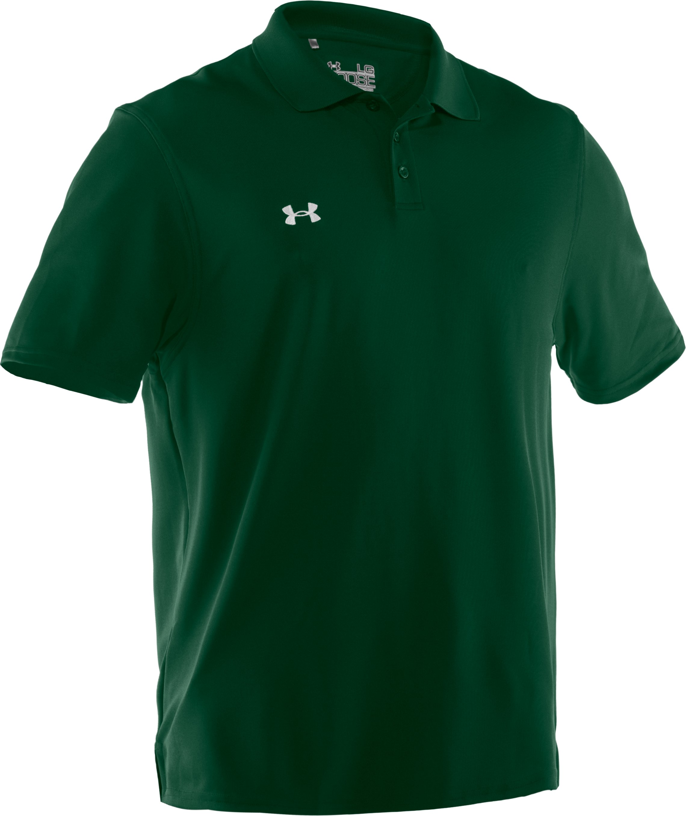 Men's UA Performance Team Polo, Forest Green