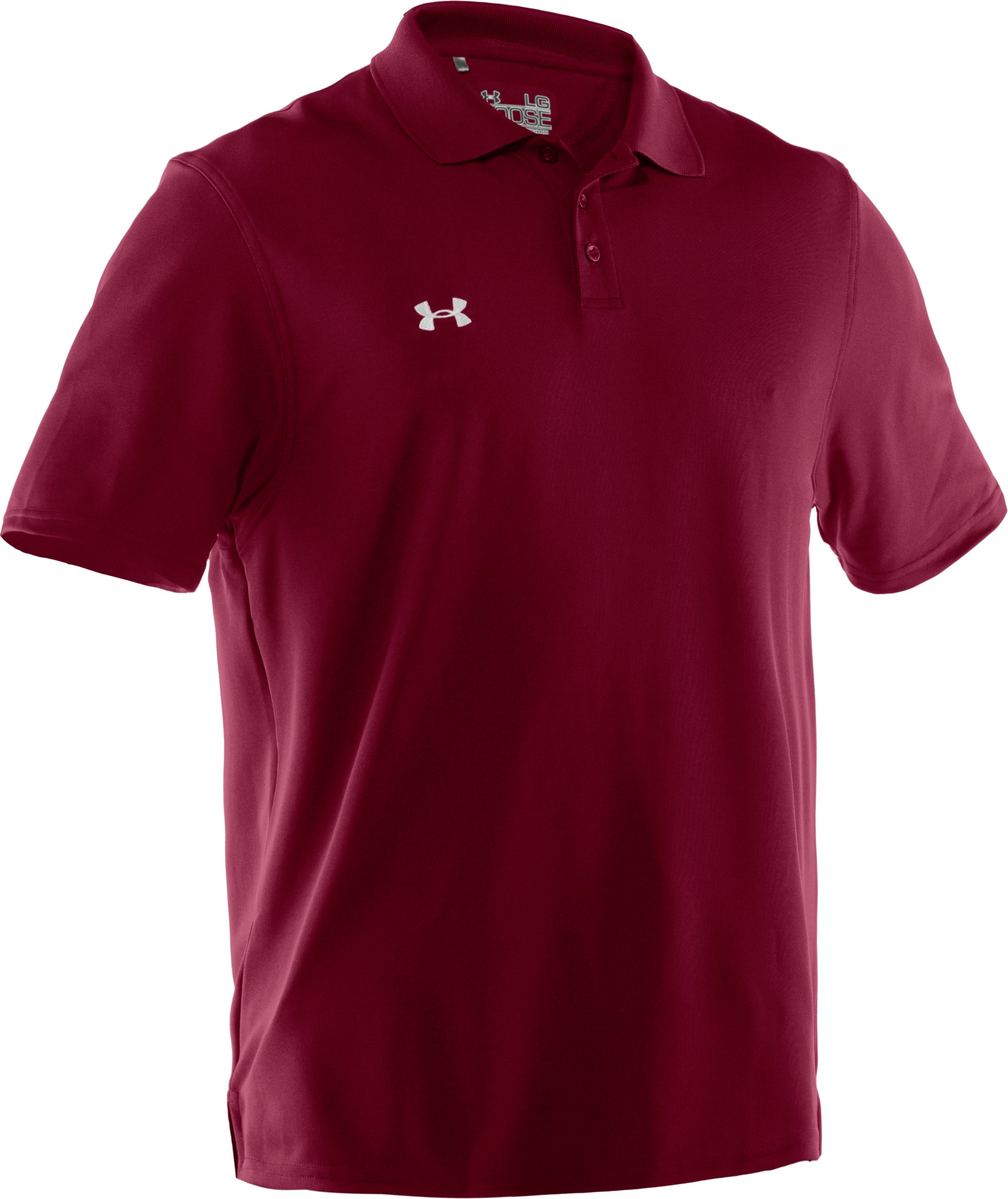 Men's UA Performance Team Polo, Maroon, undefined