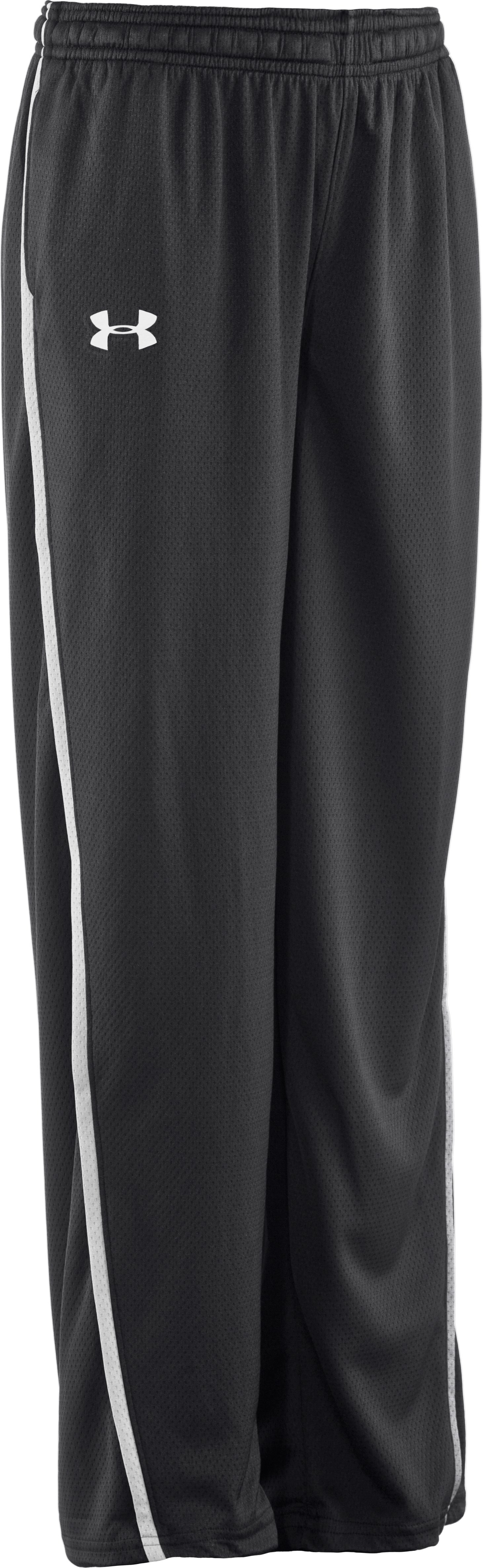 Boys' UA Catalyst Pants, Graphite, zoomed image