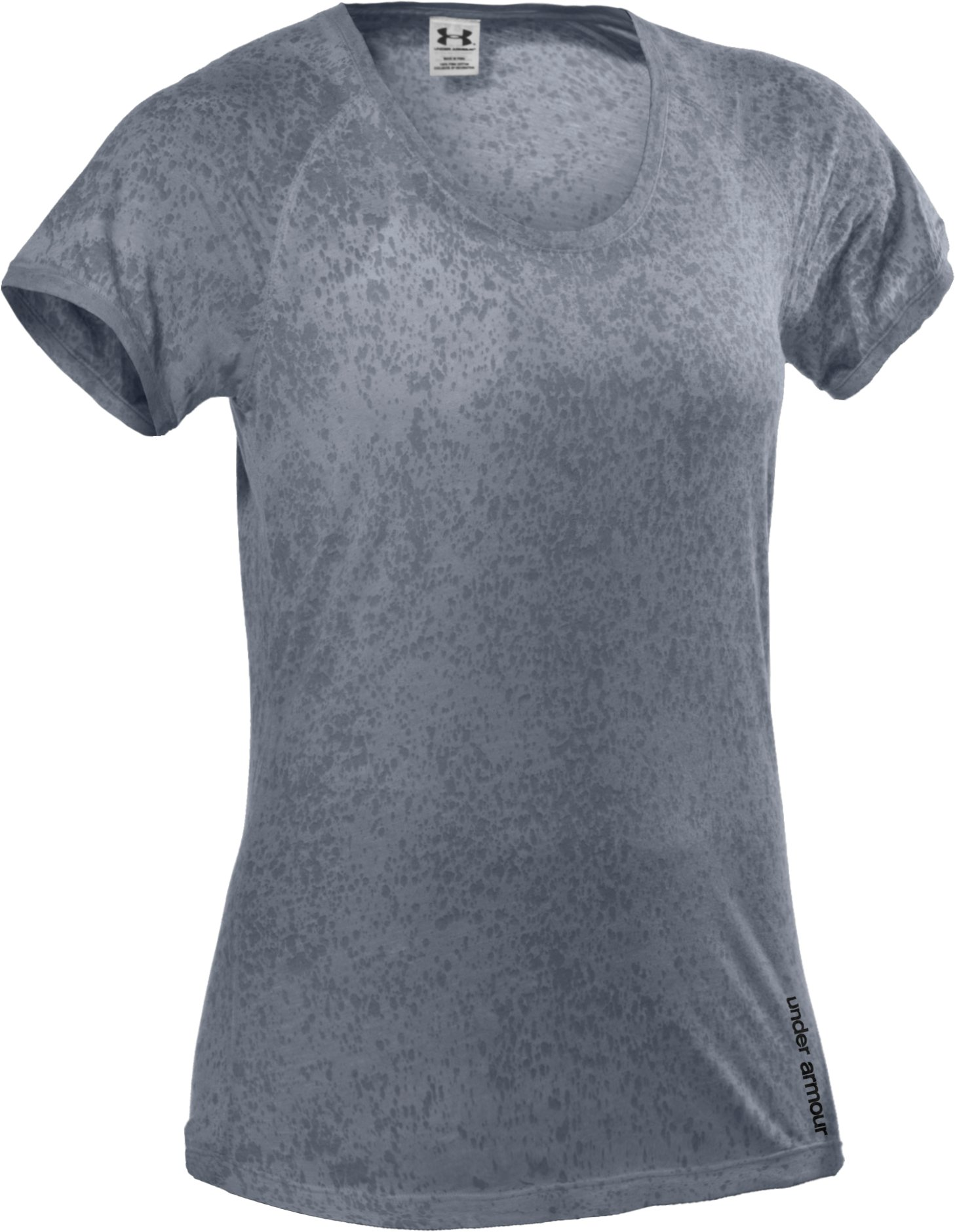 Women's Charged Cotton® Orchid Wash T-Shirt, Steel, undefined