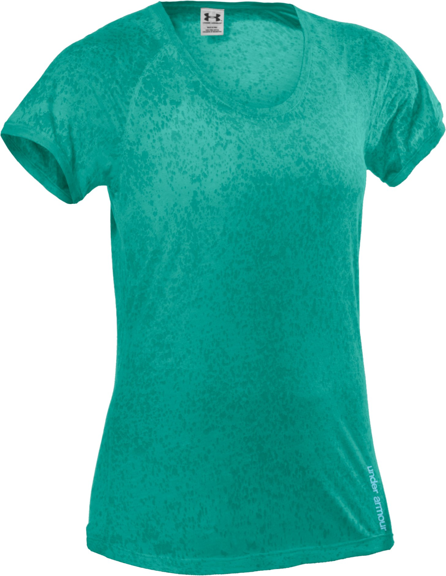 Women's Charged Cotton® Orchid Wash T-Shirt, Jade River