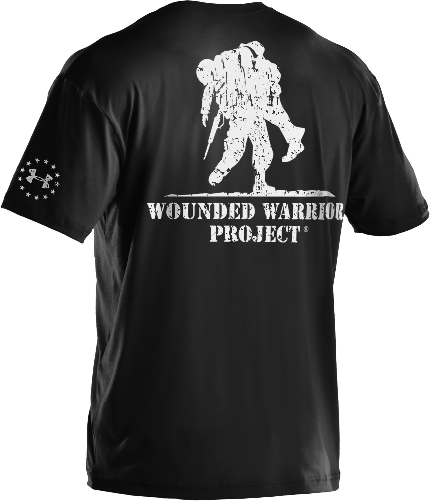 Men's UA WWP T-Shirt, Black , undefined