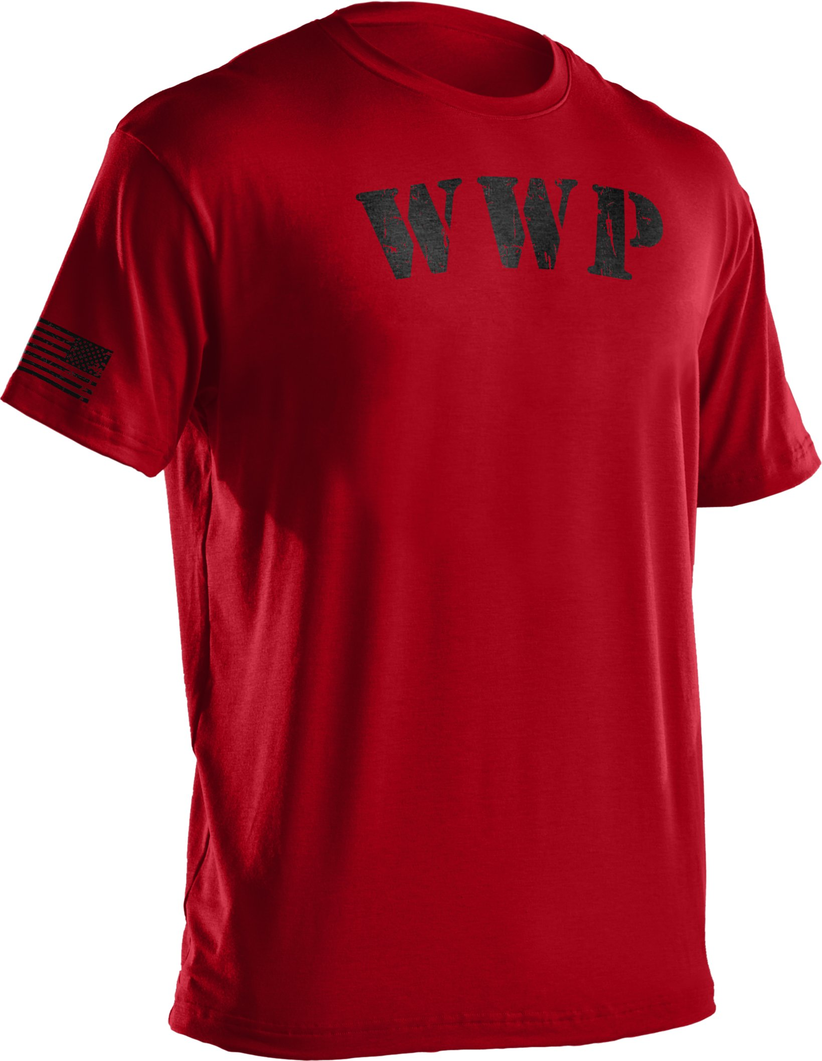 Men's UA WWP T-Shirt, Red, undefined