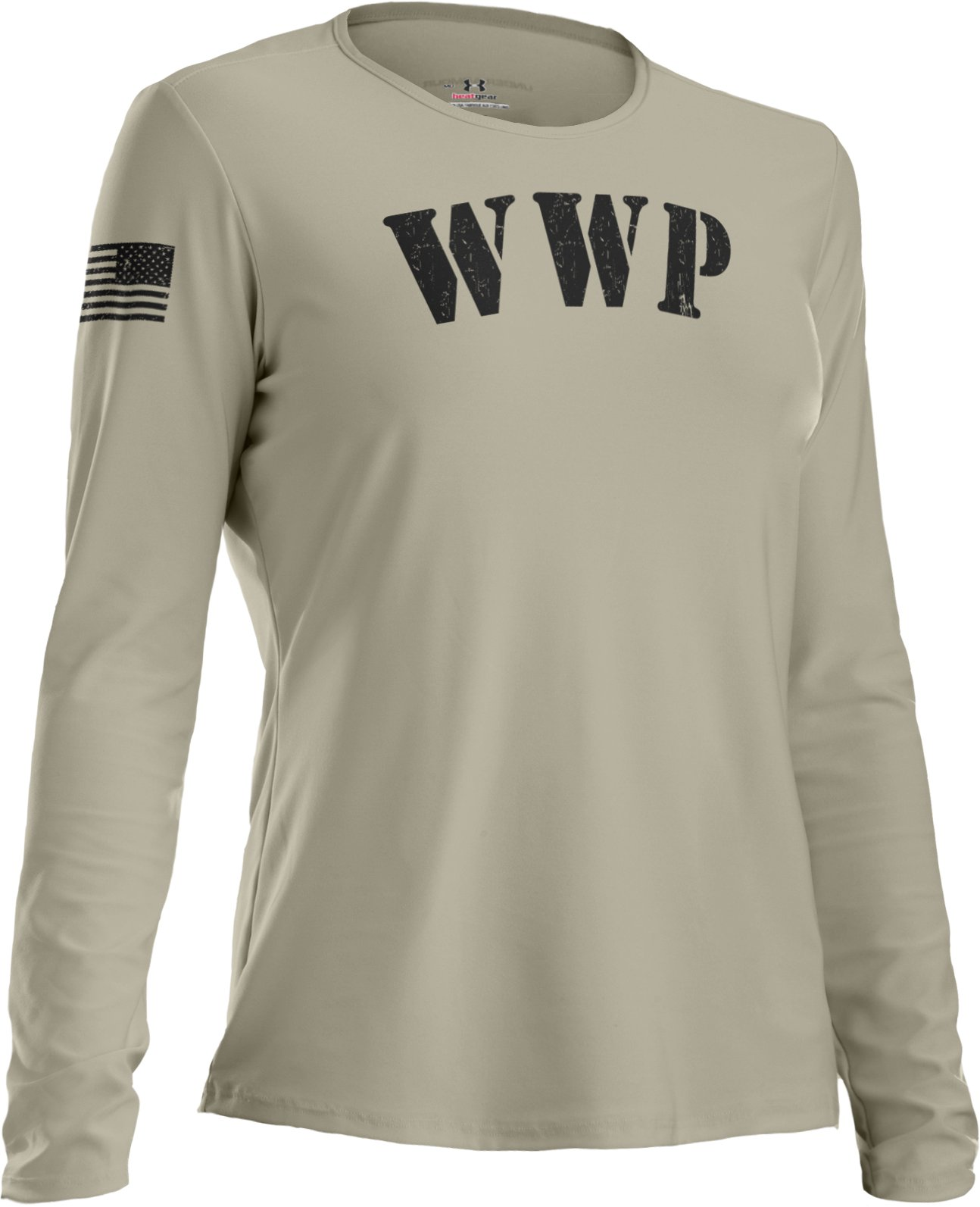Men's WWP Long Sleeve T-Shirt, Desert Sand