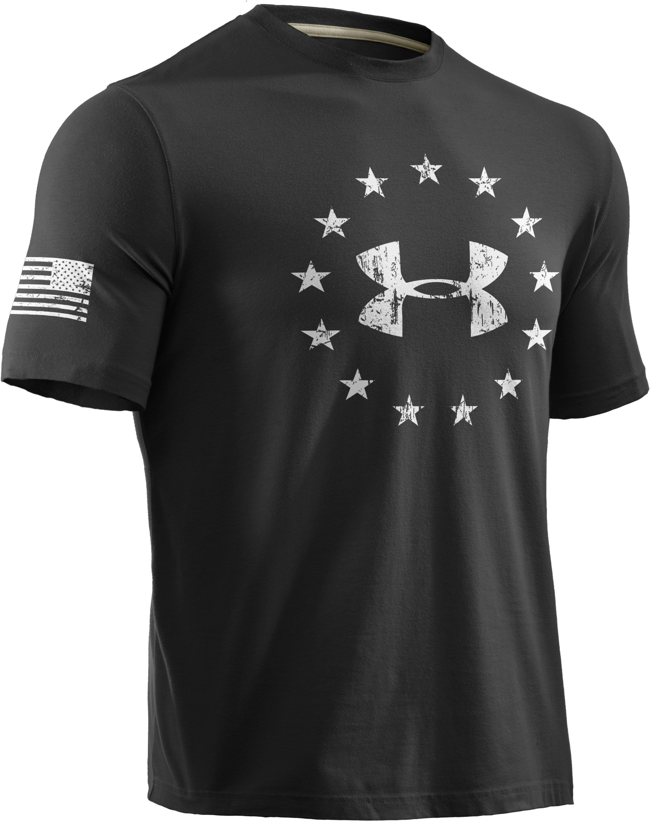 Men's UA Freedom T-Shirt, Black , undefined