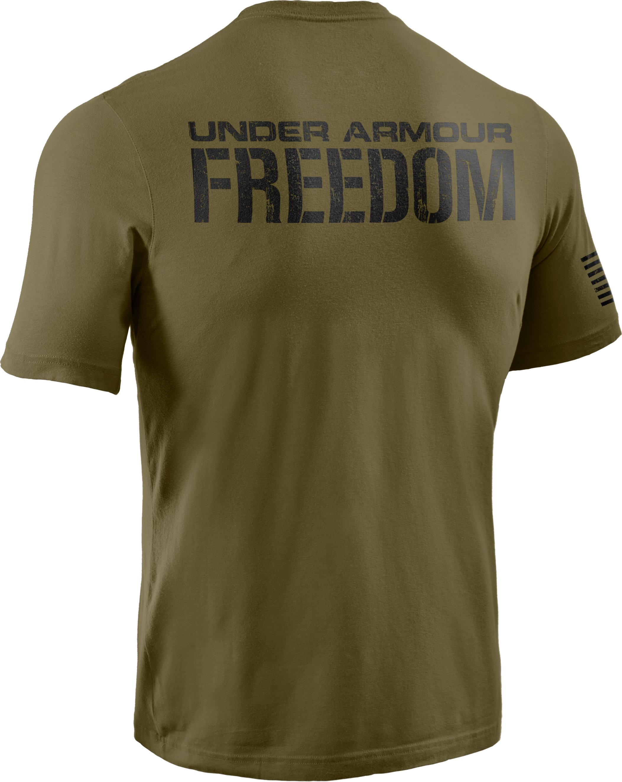 Men's UA Freedom T-Shirt, Marine OD Green,