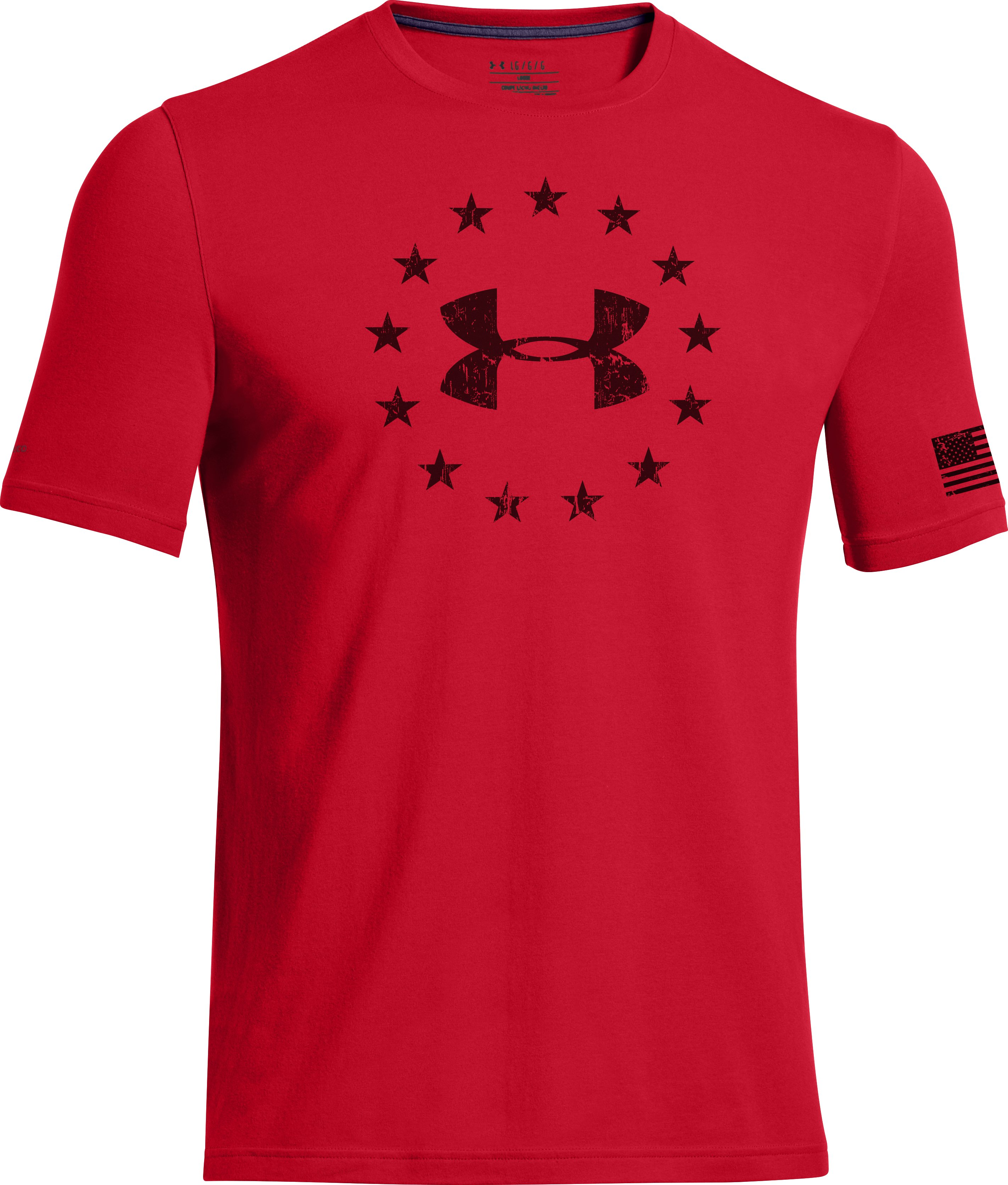Men's UA Freedom T-Shirt, Red, undefined