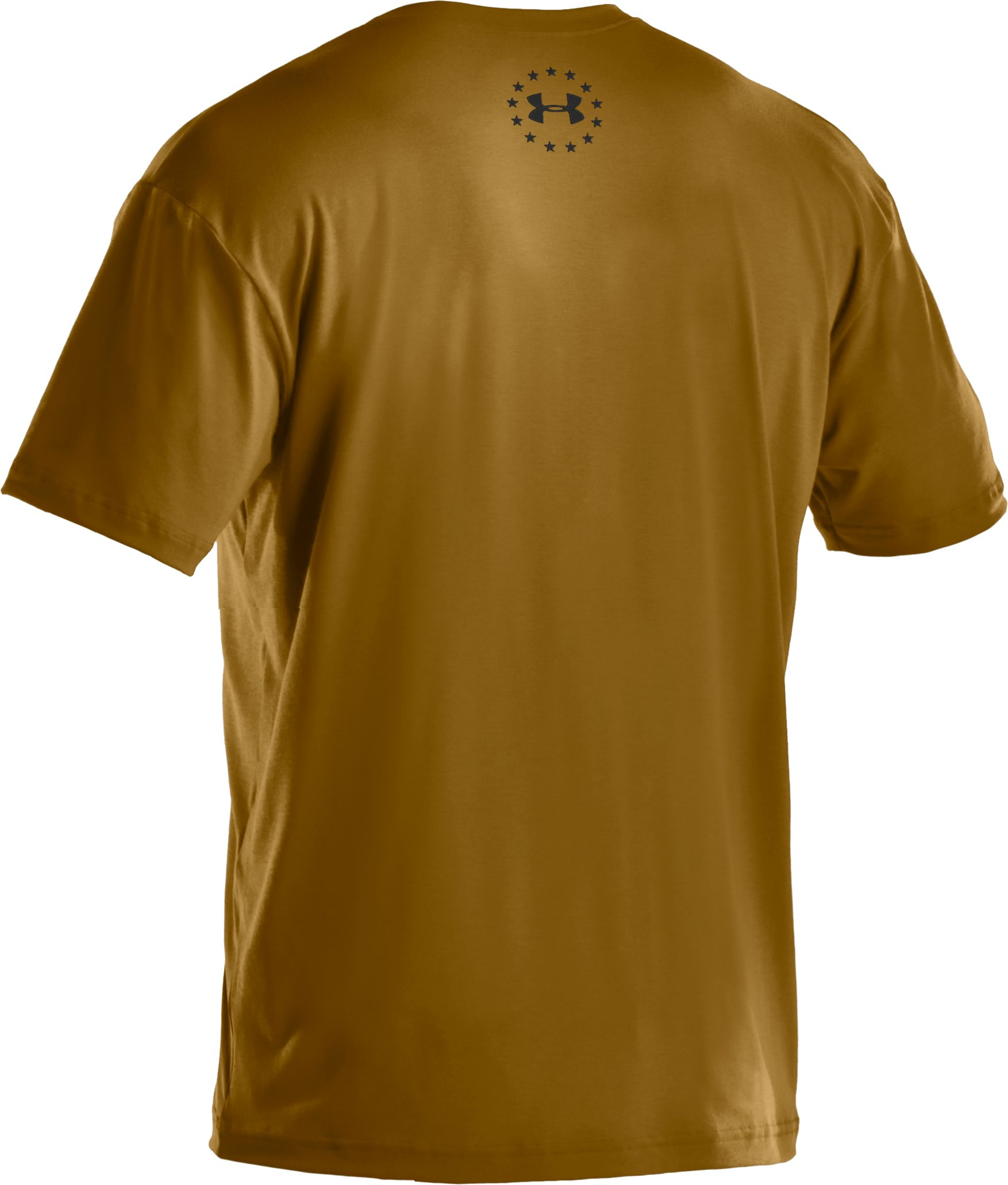 Men's UA Freedom Support T-Shirt, Army Brown,