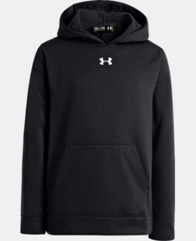 Boys' Armour® Fleece Storm Team Hoodie  1 Color $25.49