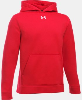 Boys' Armour® Fleece Storm Team Hoodie LIMITED TIME: FREE U.S. SHIPPING 1 Color $33.99