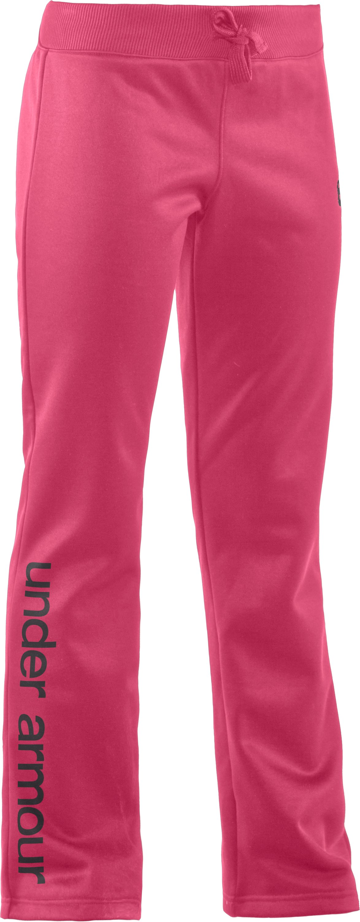 Girls' Armour® Fleece Storm Pant, Ultra, zoomed image