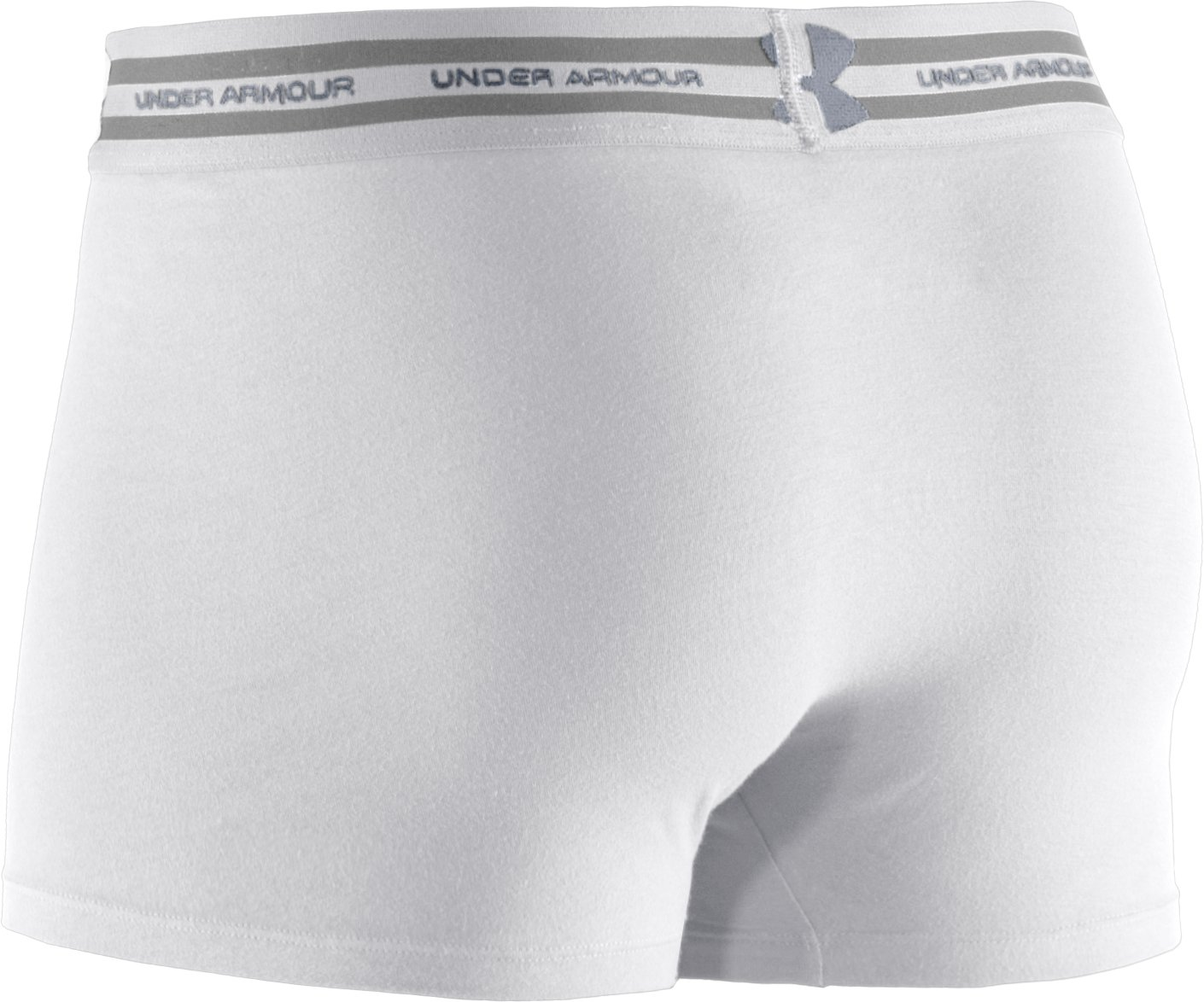 "Men's Charged Cotton® 3"" Boxerjock® Boxer Briefs, White"