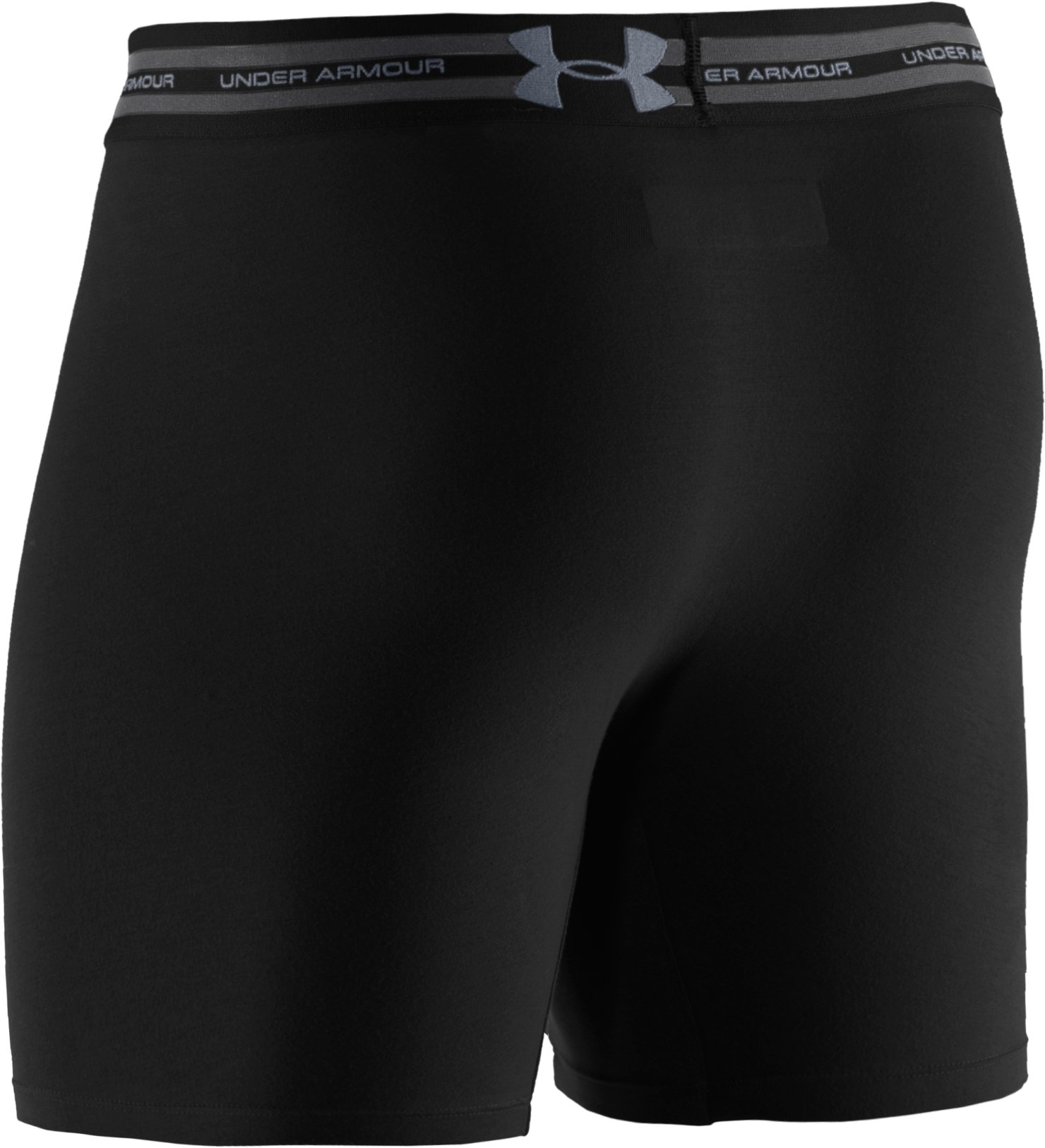 "Men's Charged Cotton® 6"", Black ,"